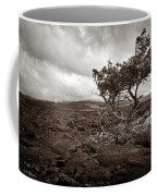 Storm Moving In - Sepia Coffee Mug