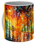 Storm Of Emotions - Palette Knife Oil Painting On Canvas By Leonid Afremov Coffee Mug