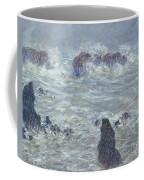 Storm Off The Coast Of Belle Ile Coffee Mug