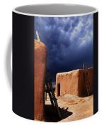 Storm On The Mesa Coffee Mug