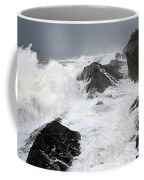 Storm On The Oregon Coast Coffee Mug