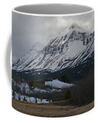 Storm On The Rocky Mountain Front Coffee Mug
