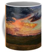 Storm Over Davis Mountains Coffee Mug