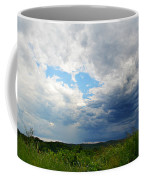 Storm Over Foothills Coffee Mug