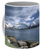 Storm Over Sydney Harbor Coffee Mug
