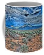 Storm Over Taos Mountain Coffee Mug
