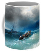 Storm Over The Black Sea Coffee Mug