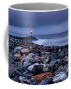 Storm Over The Jetty 2 Coffee Mug