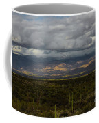 Storm Over The Mountains Of Arizona Coffee Mug