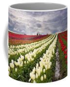 Storm Over Tulips Coffee Mug by Mike  Dawson