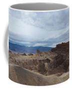 Storm Over Zabriskie Point Coffee Mug