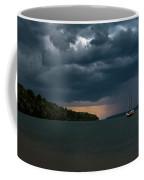 Storm Schooner Coffee Mug