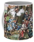Storming Of The Fortress Of Neoheroka Coffee Mug