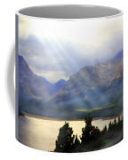 Storms A Coming-lower Two Medicine Lake Coffee Mug