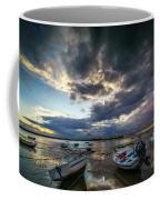 Storms At Dusk In La Caleta Cadiz Spain Coffee Mug