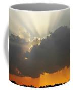 Storms Building At Sunset Coffee Mug
