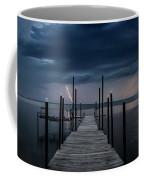 Storms On The Dock Coffee Mug