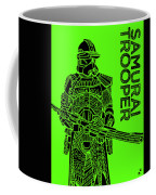 Stormtrooper - Green - Star Wars Art Coffee Mug