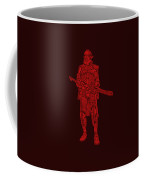 Stormtrooper Samurai - Star Wars Art - Red Coffee Mug