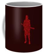 Stormtrooper Samurai - Star Wars Art - Red Coffee Mug