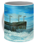 Stormy At Morro Bay Coffee Mug