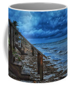 Stormy Backyard  Coffee Mug