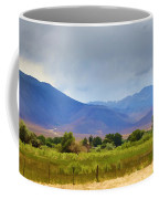 Stormy California Mountains Coffee Mug