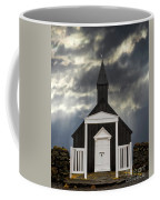 Stormy Day At The Black Church Coffee Mug