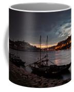 Stormy Evening Sky Above Porto And Gaia Coffee Mug