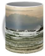 Stormy Fishing Coffee Mug