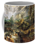 Stormy Landscape -  1625 Peter Paul Rubens Coffee Mug