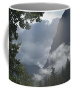 Stormy Morning In Glacier Coffee Mug