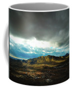 Stormy Mountains In Sunlight Coffee Mug