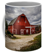 Stormy Red Barn Coffee Mug
