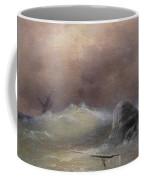 Stormy Sea 1887 Ivan Konstantinovich Aivazovsky Coffee Mug
