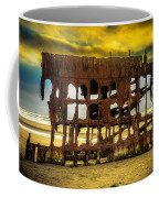 Stormy Shipwreck Coffee Mug