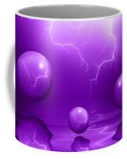 Stormy Skies - Purple Coffee Mug