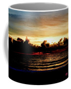 Stormy Sunrise Over The Ocean  Coffee Mug