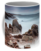 Stormy Sunset Beach Coffee Mug