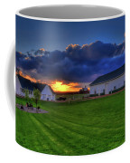 Stormy Sunset In The Country Coffee Mug