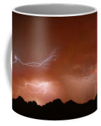 Stormy Weather Above The Mountains Coffee Mug