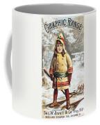 Stove Trade Card, C1890 Coffee Mug
