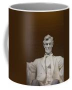 Straight On Abe Coffee Mug