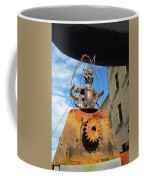 Strange Steam Punk Demonic Figure Coffee Mug