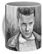 Stranger Things Fan Art Eleven Coffee Mug