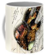 Strat Abstracta No. 4 Sunrise Coffee Mug