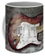 Strat Guitar Fantasy Coffee Mug