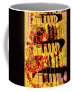Stratocaster Strat Plus Lace Sensors Pop Art Coffee Mug