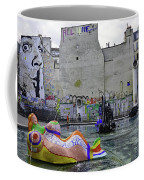 Stravinsky Fountain Near Centre Pompidou In Paris, France Coffee Mug