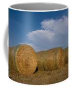 Straw Bales On A Hog Farm In Kansas Coffee Mug